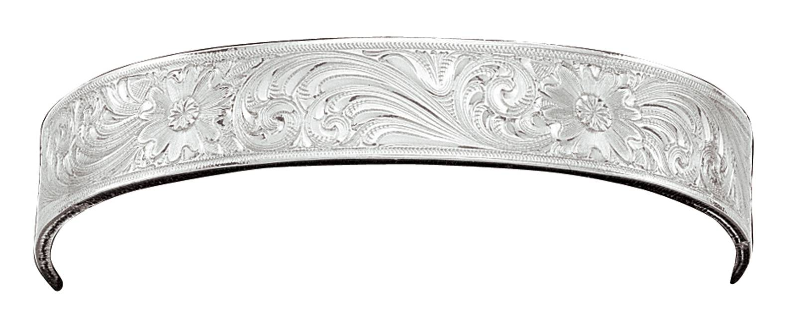 Montana Silversmiths Silver Fully Engraved Cuff Bracelet