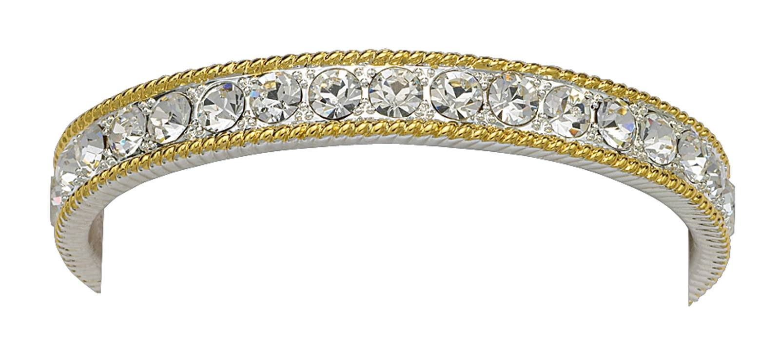 Montana Silversmiths Crystal Shine In Gold Bangle Bracelet