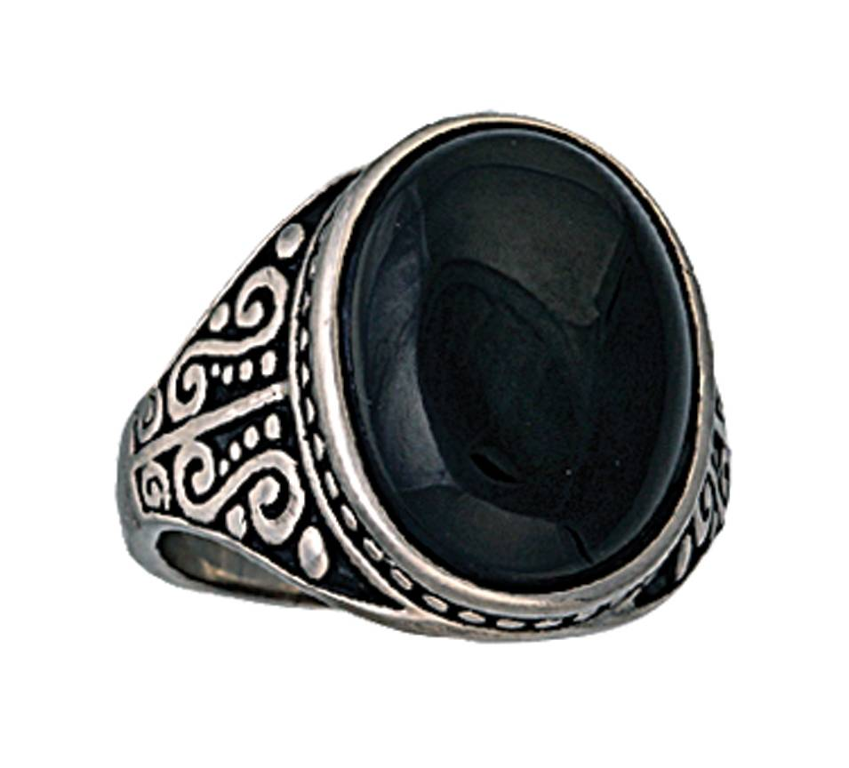 Montana Silversmiths Night Reflection onyx Cocktail Ring