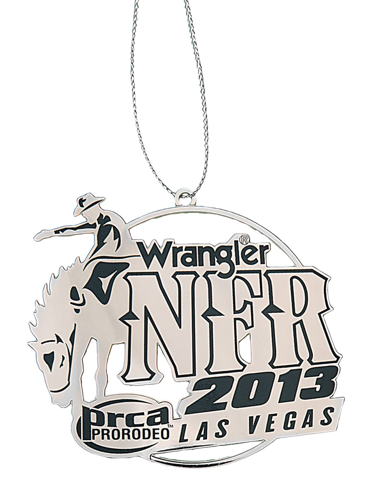 Montana Silversmiths 2013 WNFR Christmas Ornament