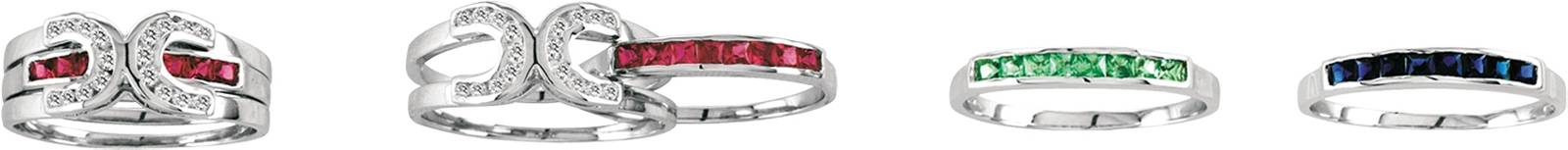 Kelly Herd Interchangeable Horseshoe Ring