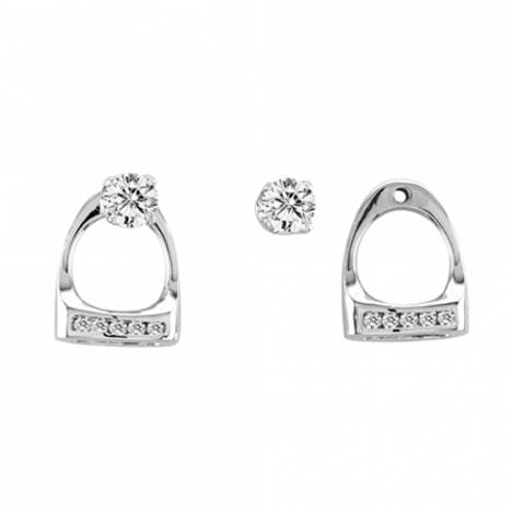 Kelly Herd Small English Stirrup Earring Jackets