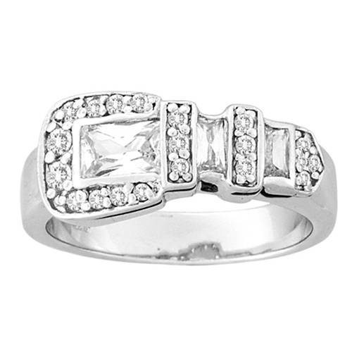 Kelly Herd Clear Buckle Ring