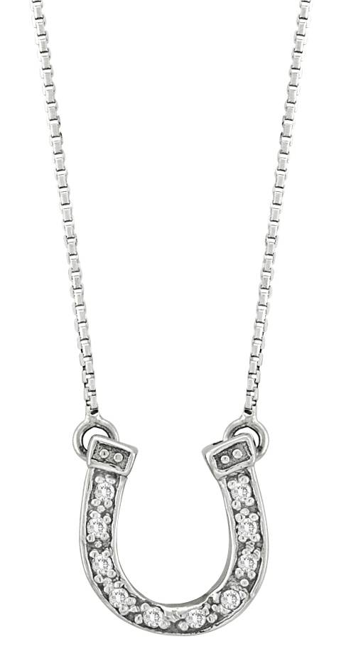 Kelly Herd Small Horseshoe Necklace