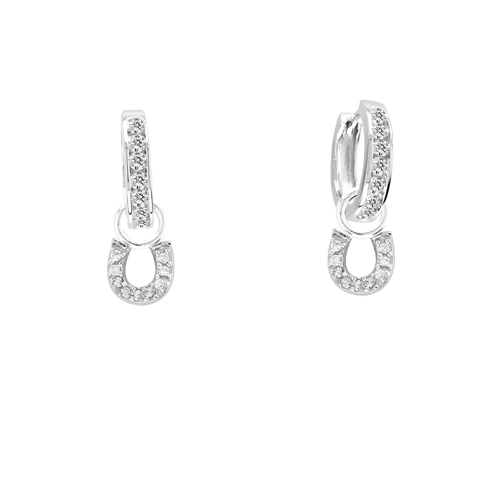 Kelly Herd Horseshoe Dangle Earring