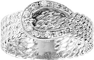 Kelly Herd Rope Buckle Ring