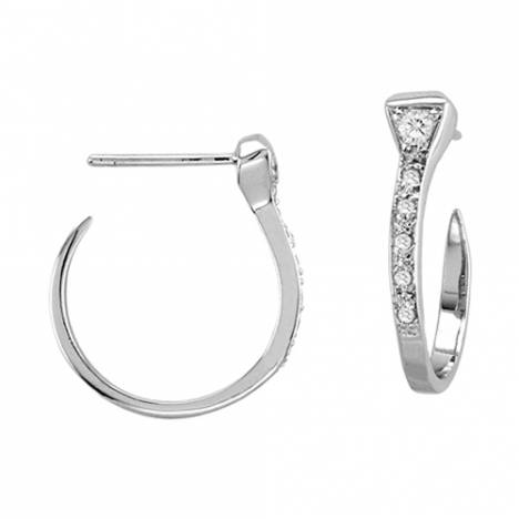 Kelly Herd Horseshoe Nail Hoop Earrings