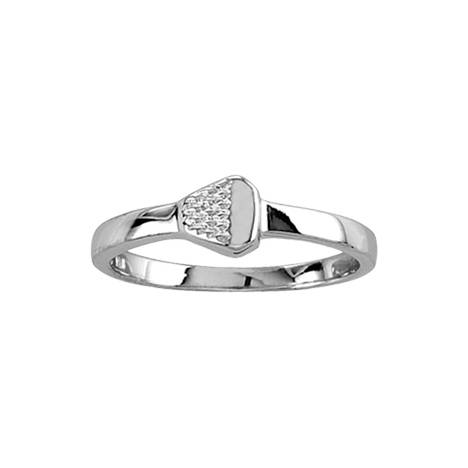 Kelly Herd Polished Silver Nail Ring