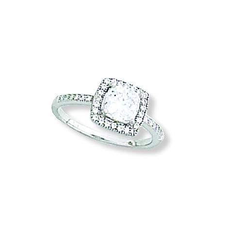 KH Clear Square Ring