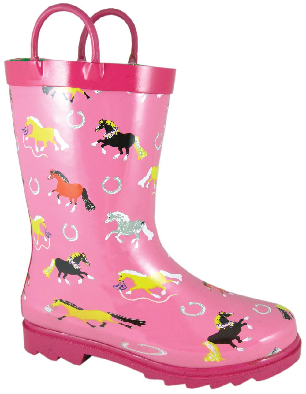 Smoky Boots Show Horse Waterproof Boots - Toddler, Pink