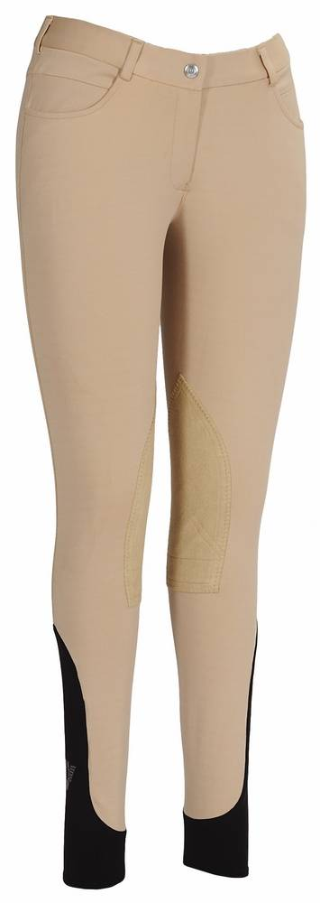 Tuffrider Wellesley Breeches - Kids, Knee Patch