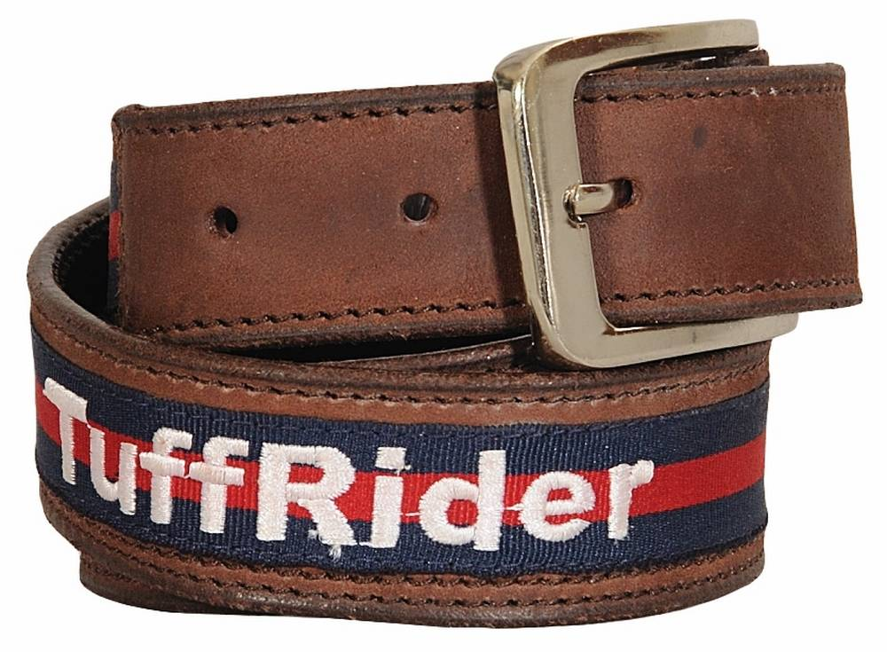 Tuffrider Leather Belt - Ladies