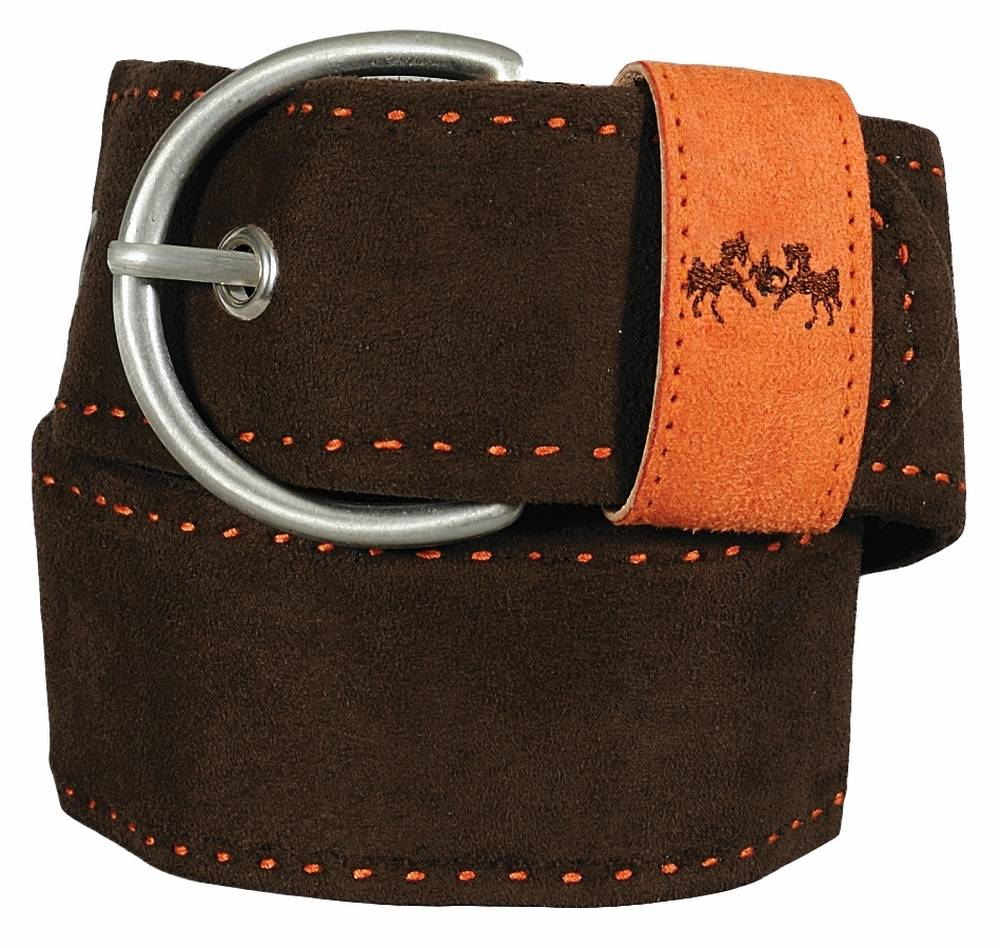 Equine Couture Dillon Ultra Suede Belt - Ladies