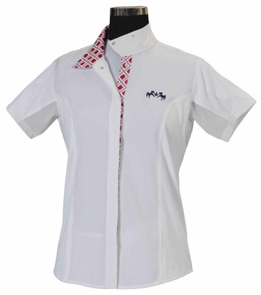 Equine Couture Jenna Show Shirt - Girls, Short Sleeve