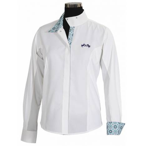 Equine Couture Kelsey Show Shirt - Kids, Long Sleeve