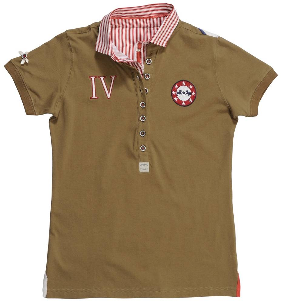 Equine Couture Skyler Polo Shirt - Kids, Short Sleeve