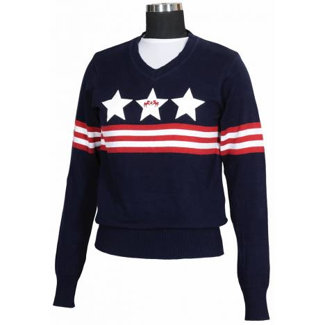 Equine Couture Stars & Stripes Sweater - Kids