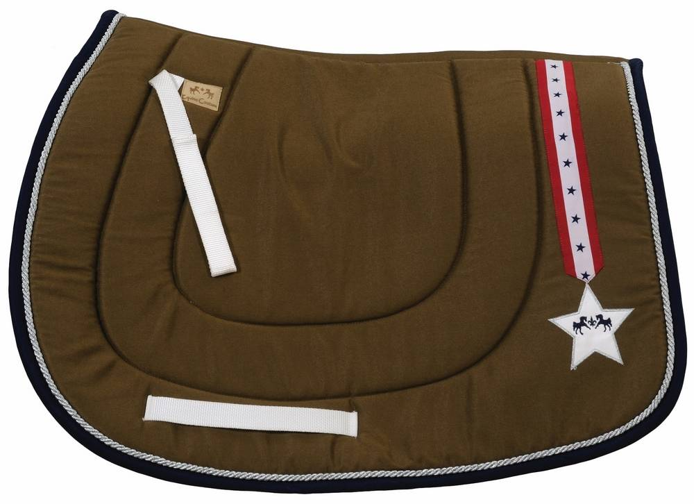 Equine Couture Stars & Stripes I Saddle Pad - All Purpose