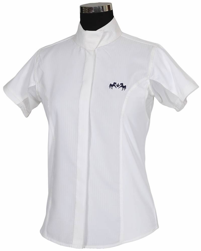 Equine Couture Cadet Show Shirt - Ladies, Short Sleeve