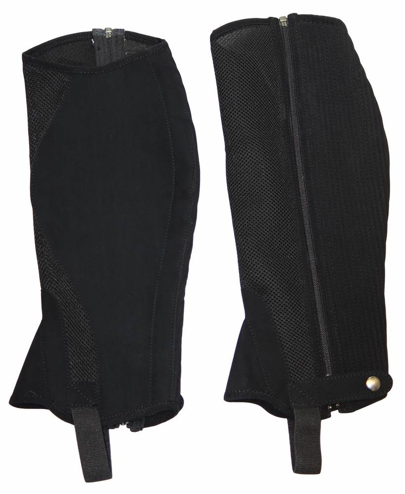 Tuffrider Synthetic Airflow Half Chaps - Adult