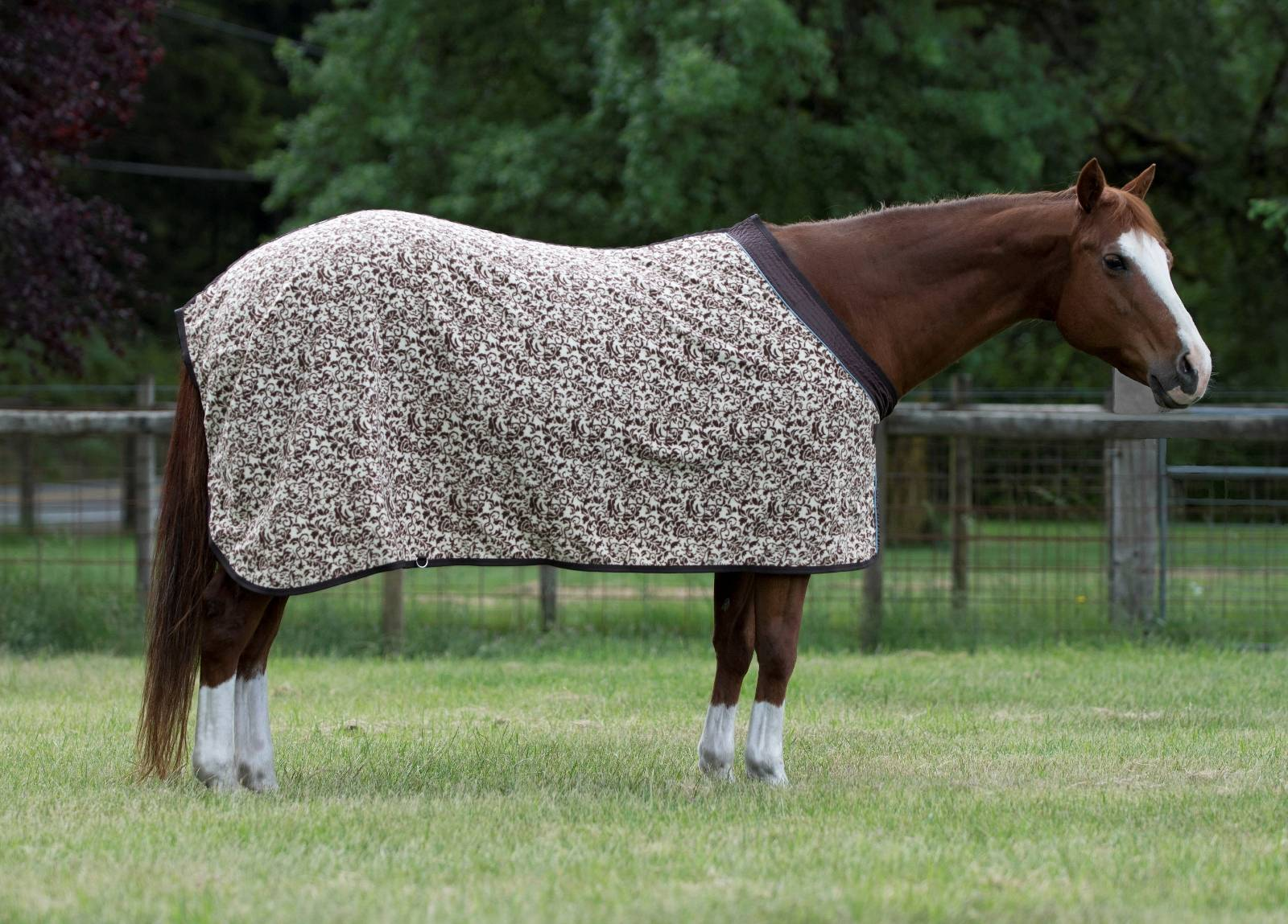 EOUS Patterned Fleece Cooler