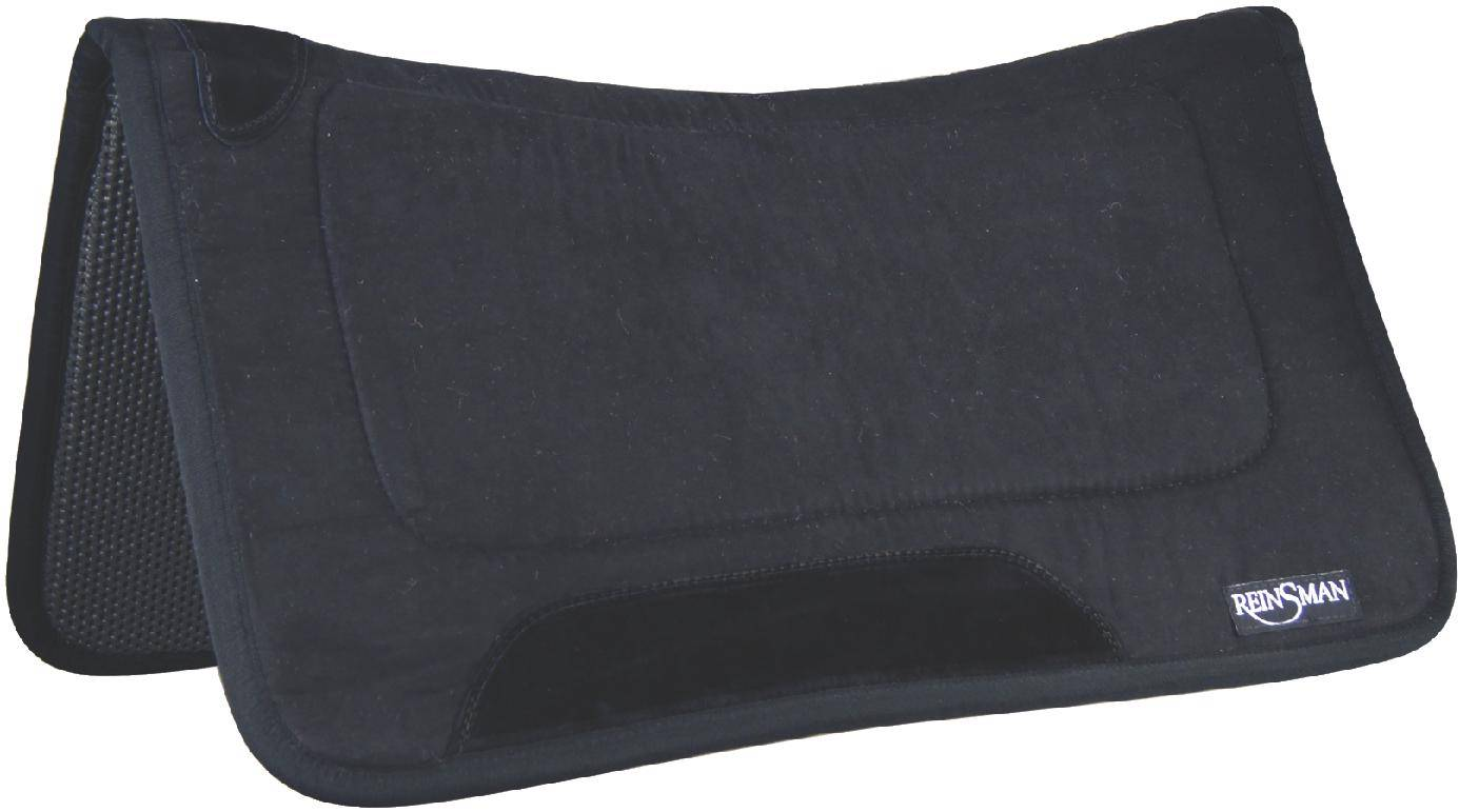 Reinsman Square Fleece Contour Microsuede Tacky Too Pad