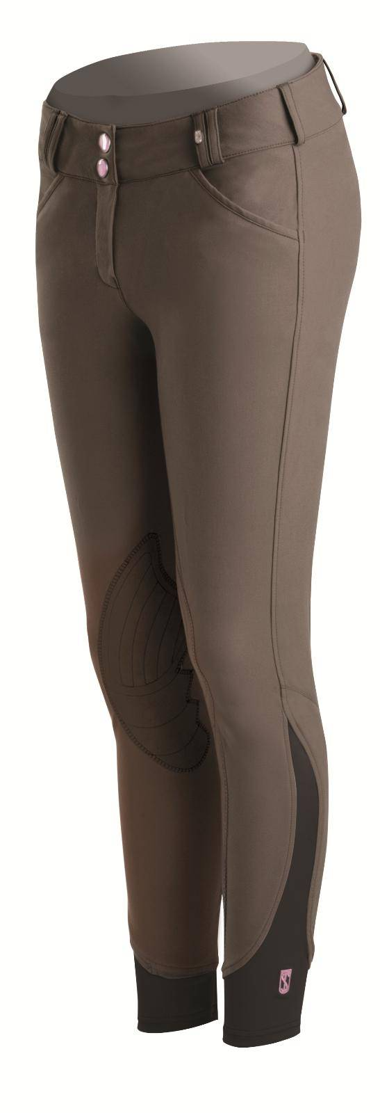 Outlet - Tredstep Rosa Knee Patch Breeches - Ladies, 34 Long, Truffle