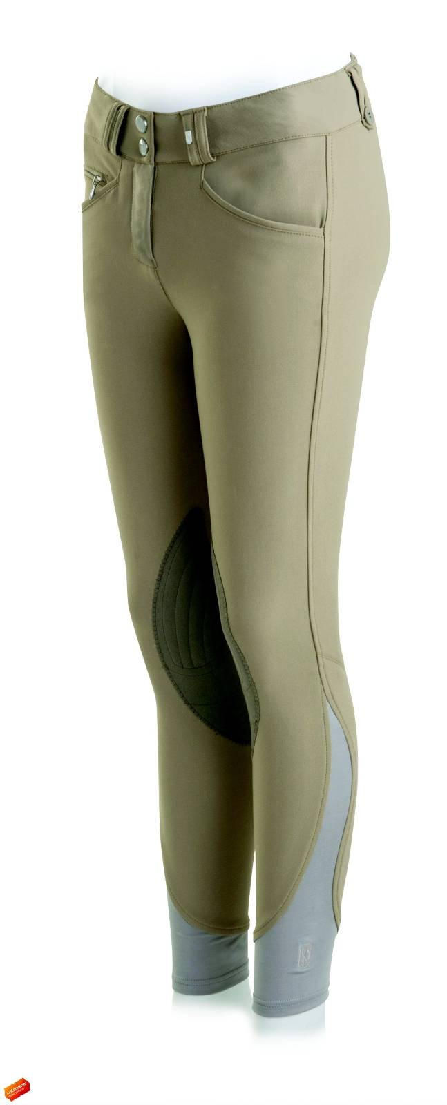 Outlet - Tredstep Argenta Breeches - Ladies, Knee Patch, 34 Regular, Tan
