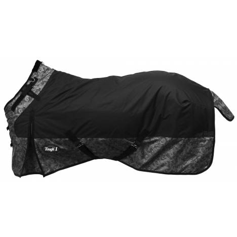 Tough-1 1200D Waterproof Poly Snuggit Turnout Blanket - Tooled Leather Print