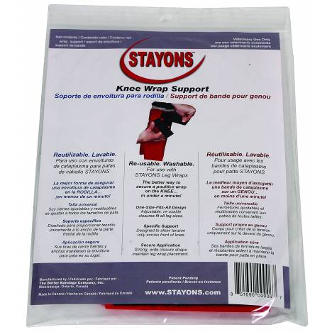 Durvet Stayons Knee Wrap Support