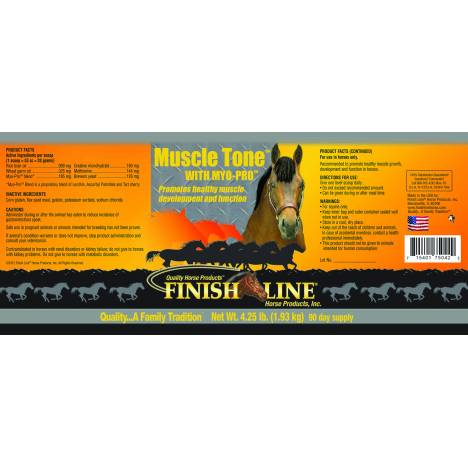 Finish Line Muscle Tone with Myo-Pro