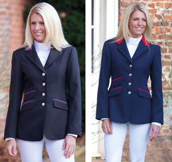 Shires Henley Competition Jacket - Ladies