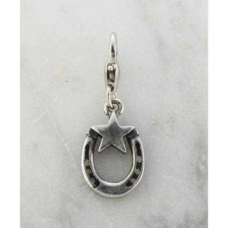 Barbary Western Horse Shoe with Star Charm
