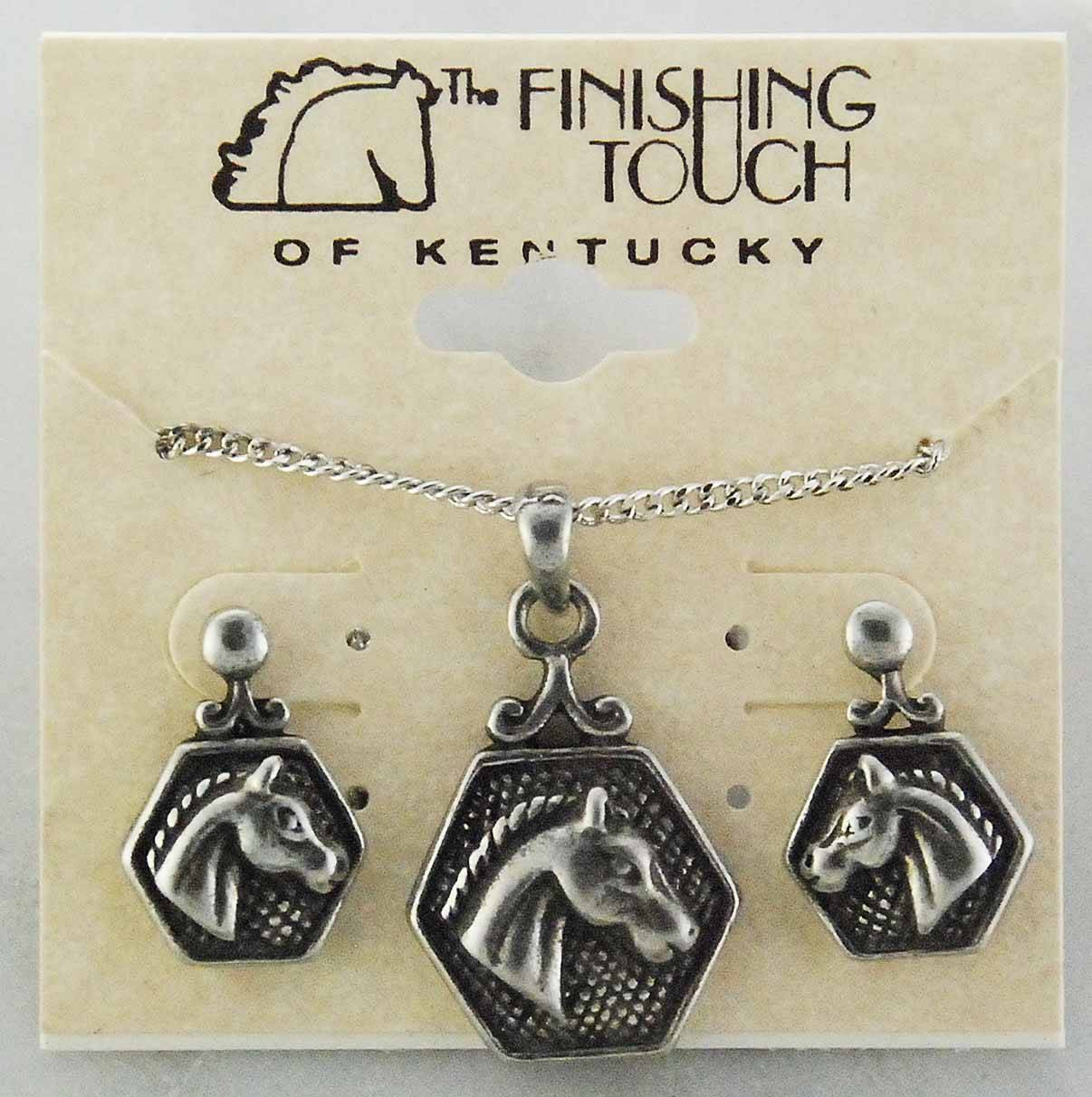 Finishing Touch Horse Head in Hex Gift Set