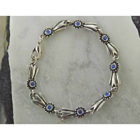 Finishing Touch Blue Ribbon Bracelet