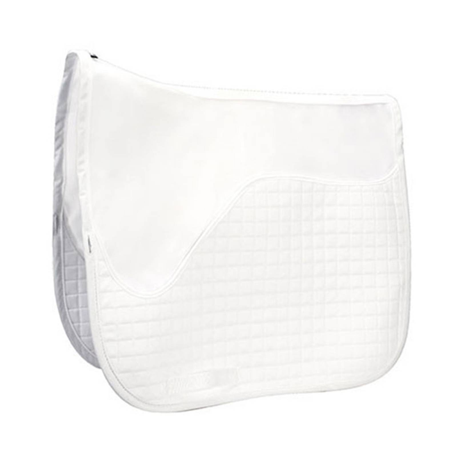 Outlet - Matrix Ergonomic Dressage Half Pad Schooling Liner, Medium, White