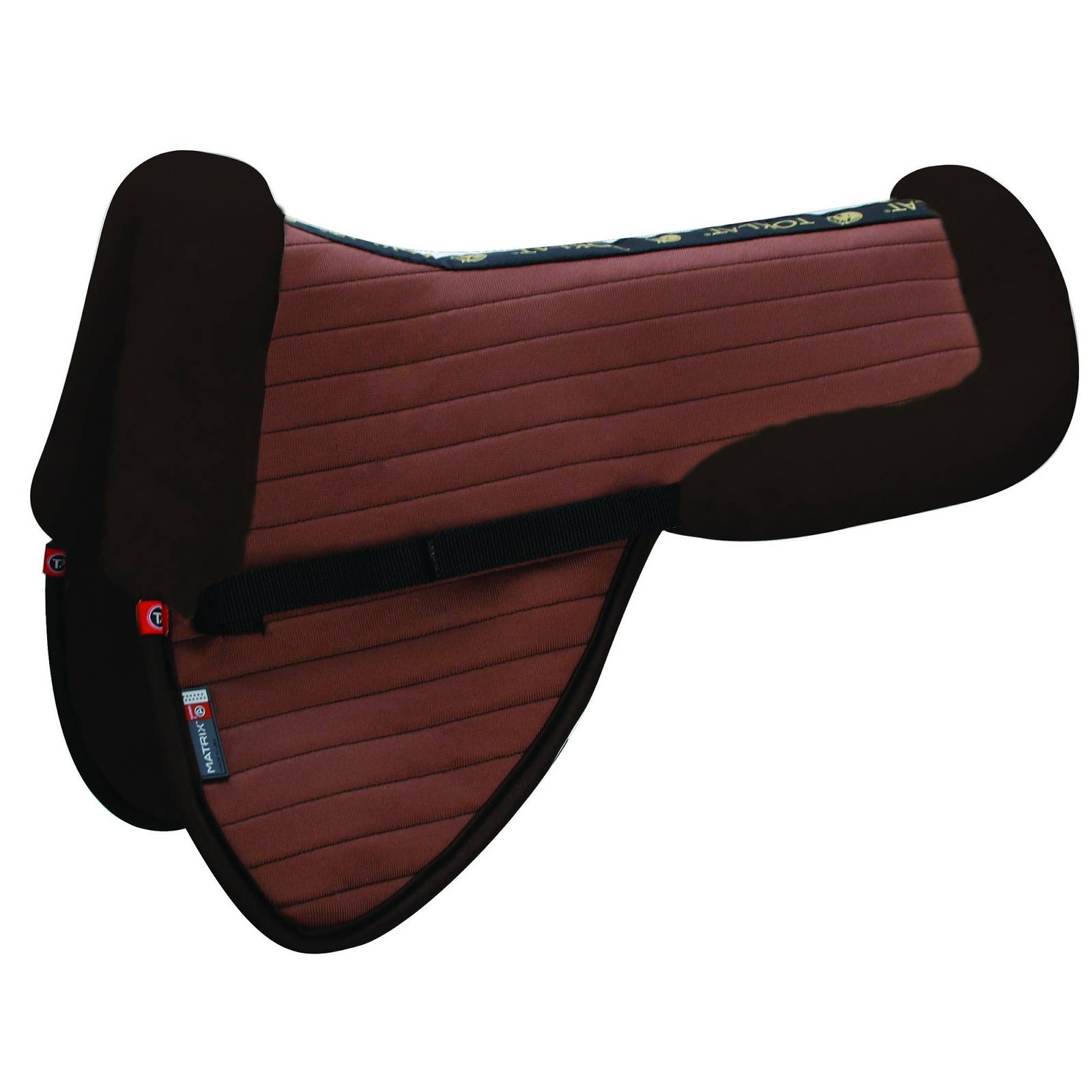 Matrix Ergonomic Coolback Dressage Half Pad with No Inserts