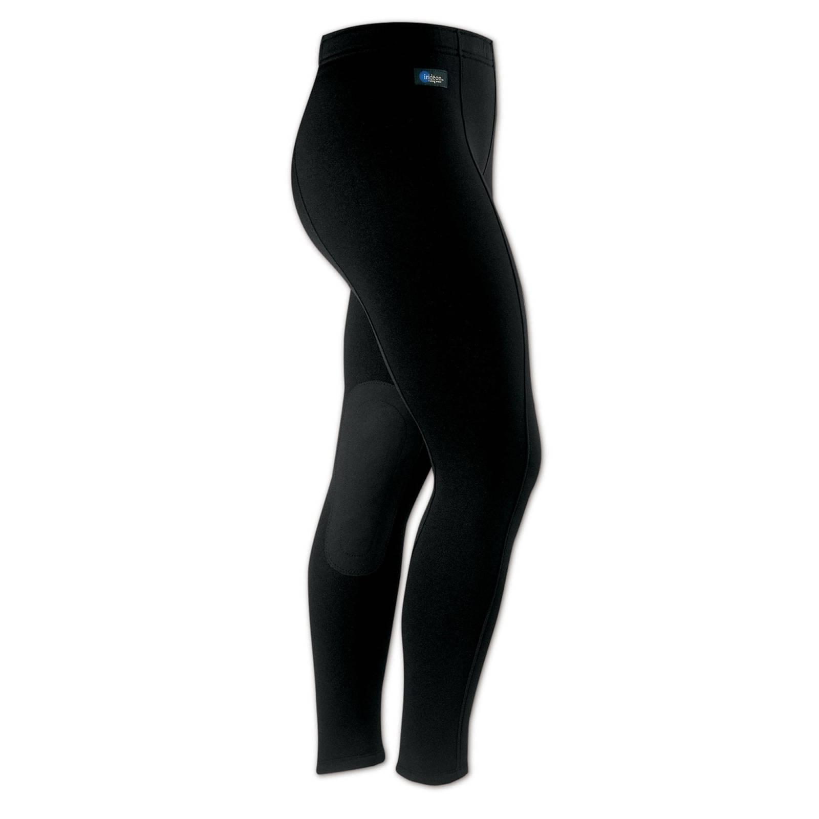 Outlet - Irideon Ladies Power Stretch Breeches - Knee Patch, 1X Regular, Black