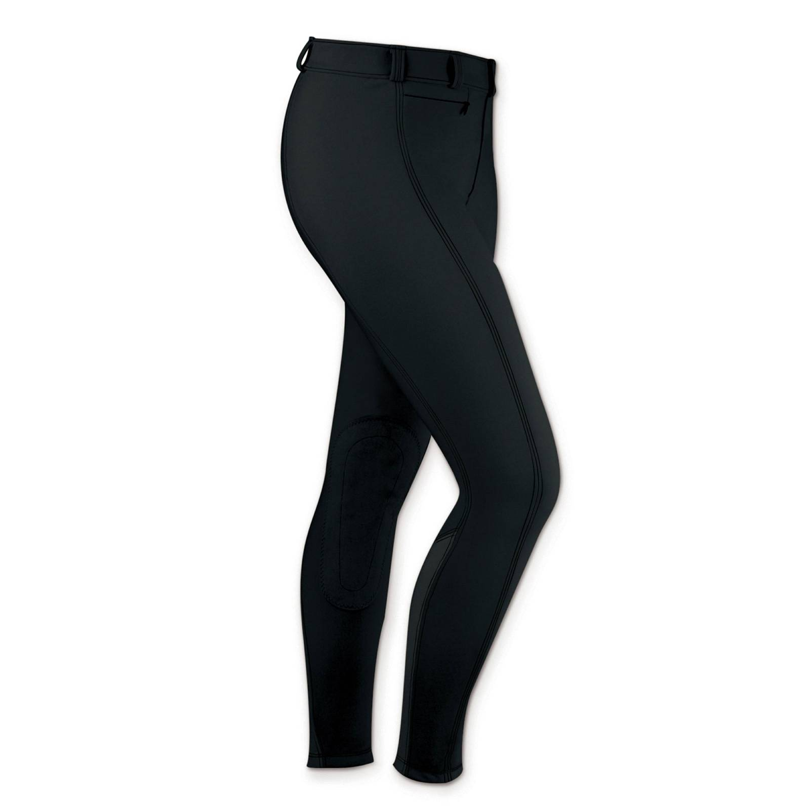 Outlet - Irideon Ladies Bellissima Full Seat Riding Breeches, 30 Long, Black