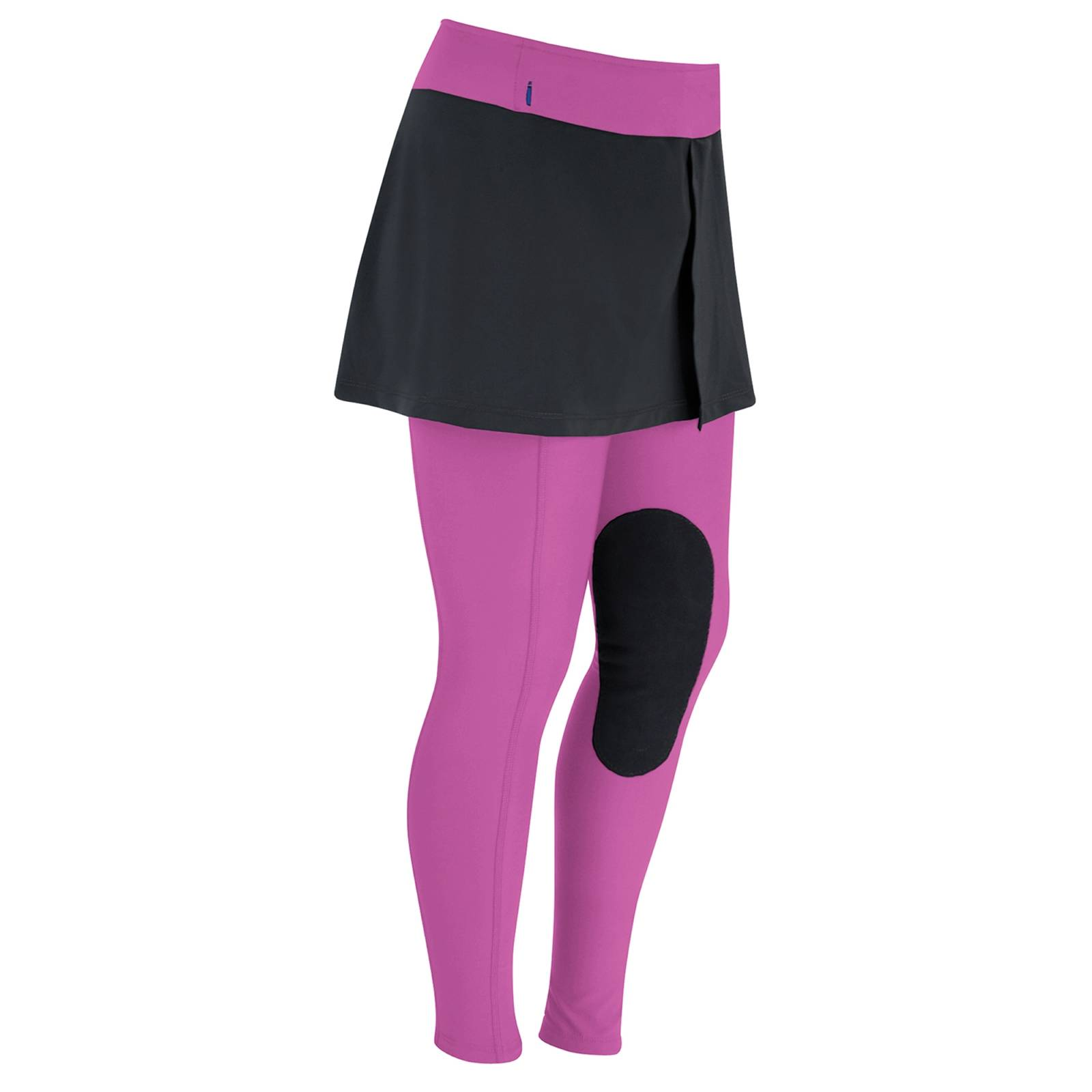 Outlet - Irideon Issential Mini Riding Tights - Kids, X-Large, Razzle Dazzle