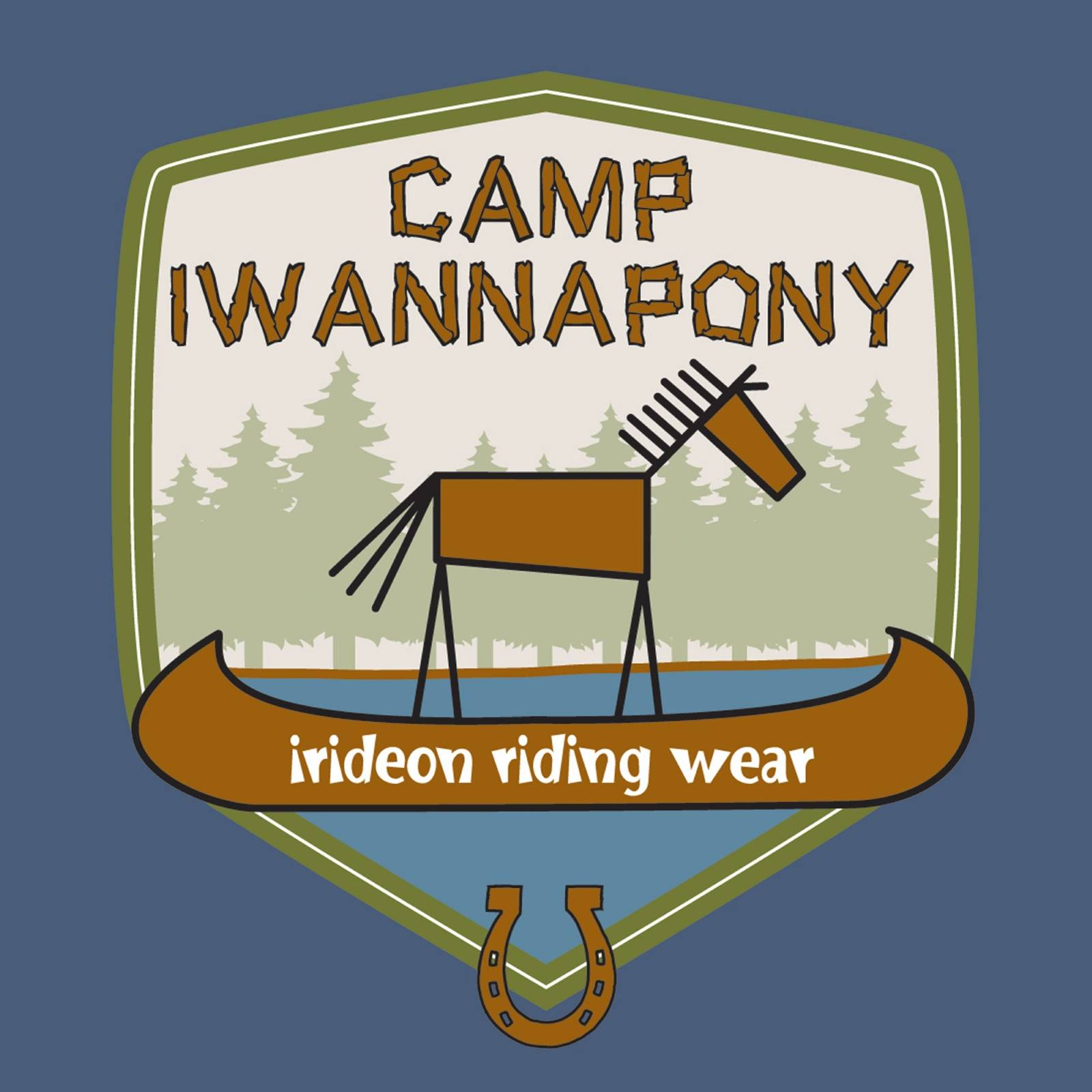 Irideon Kids Camp IWANNAPONY Long Sleeve Tee Shirt