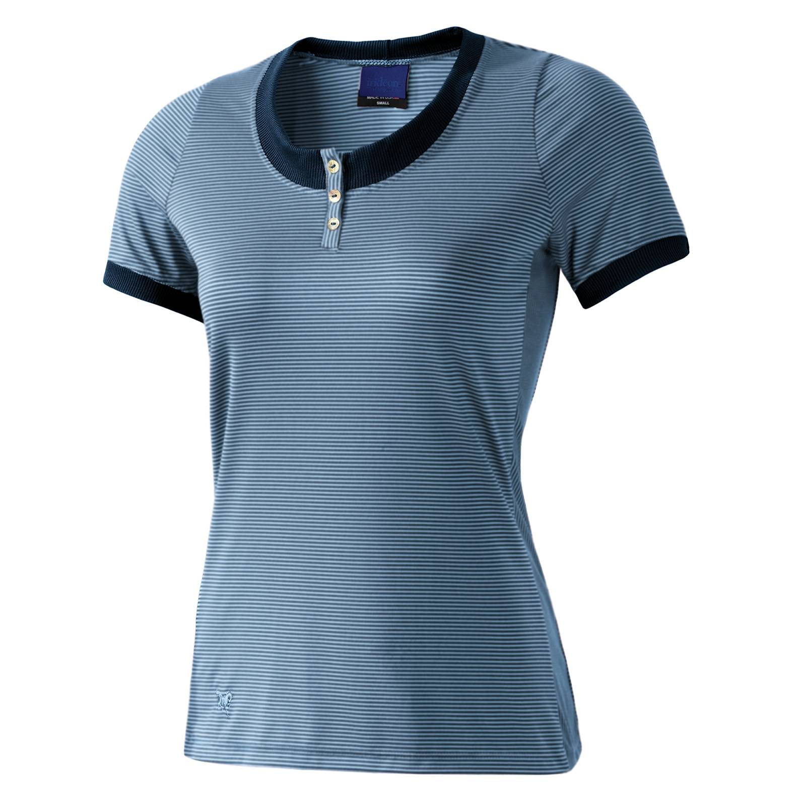 Irideon Quarterline Henley - Ladies