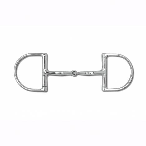 Myler Level 1 English Dee Stainless Steel Snaffle with o Hooks