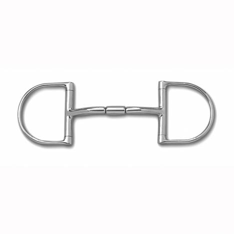 Myler Level 2 English Dee Mullen Barrel Stainless Bit with o Hooks