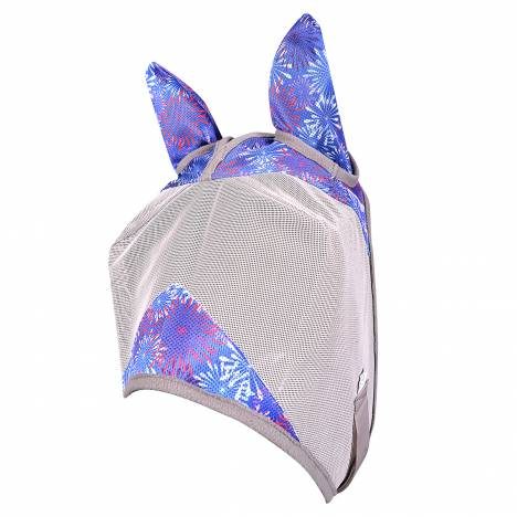 Cashel Crusader Fly Mask In Prints - Standard with Ears
