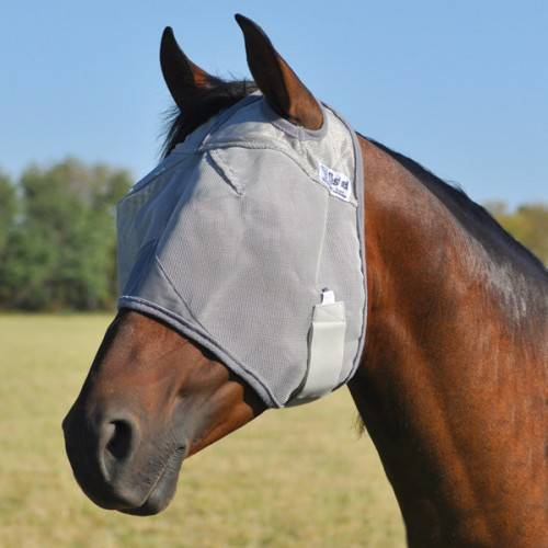 Cashel Crusader Fly Mask In Prints - Standard