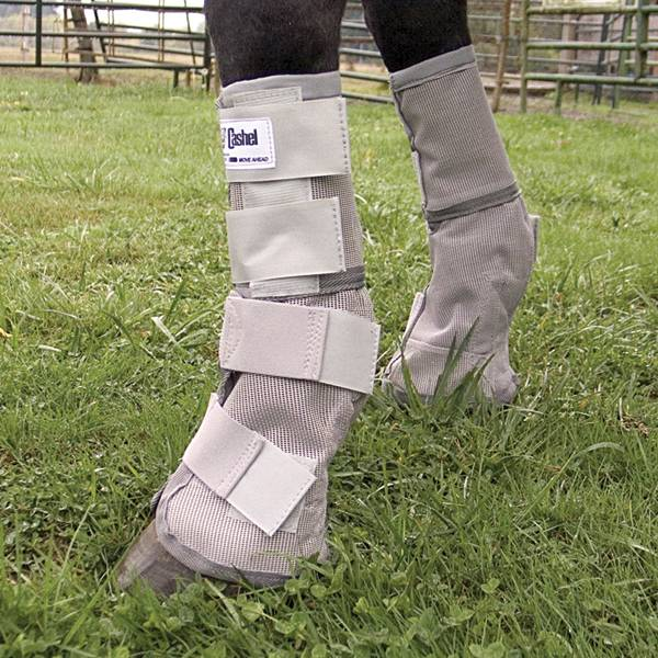Outlet - Cashel Crusader Leg Guards, Small Pony, Grey
