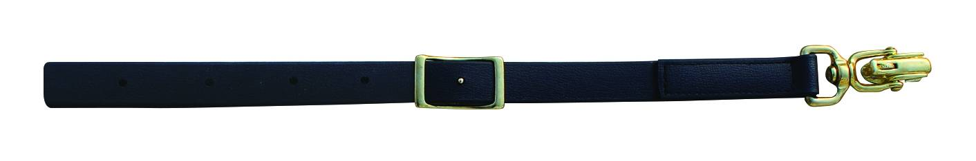 Professionals Choice Biothane Leather Tie Down - Alligator Snap