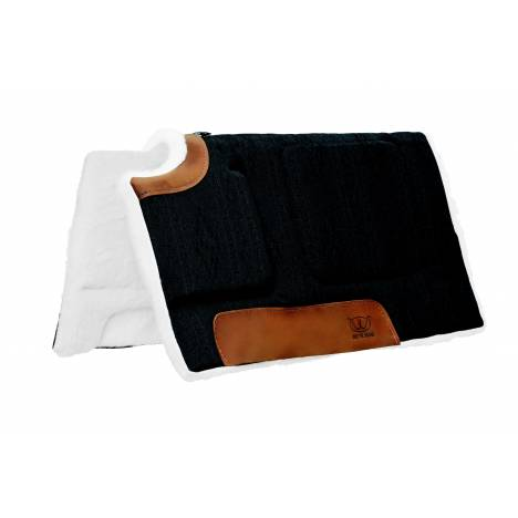 Weaver All Purpose 32x32 Built-Up Cut Back Saddle Pad - H9