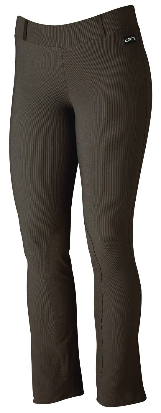 Kerrits Ladies Microcord Knee Patch Riding Breech